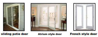 Styles of Patio Doors