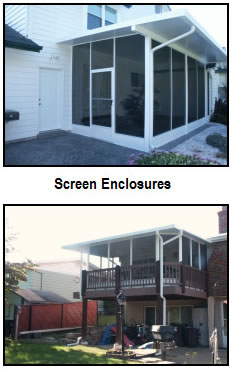 Patio Screen Enclosures