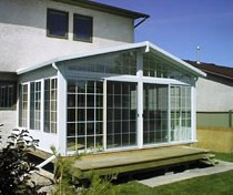 Enclosed Glass Sunroom